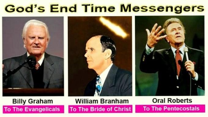Billy Graham-William Branham-Oral Roberts | 3 Messengers ...