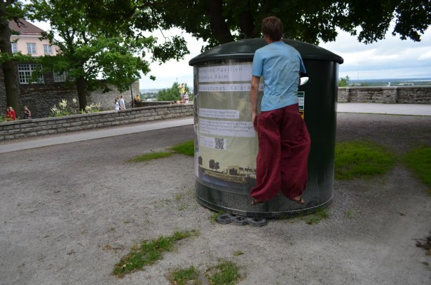 Hover recycling in Estonia