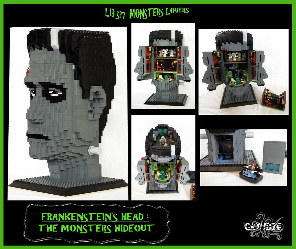 Frankenstein S Head The Monsters Hideout Worksheet