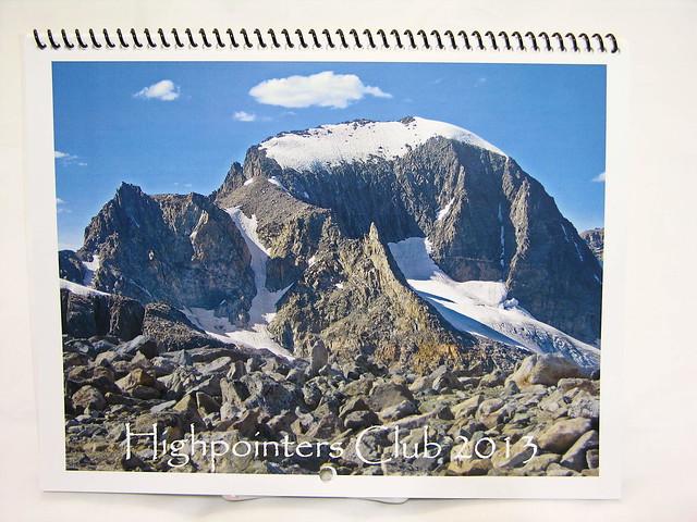 2013 Highpointers Club Calendar Available at The Merc