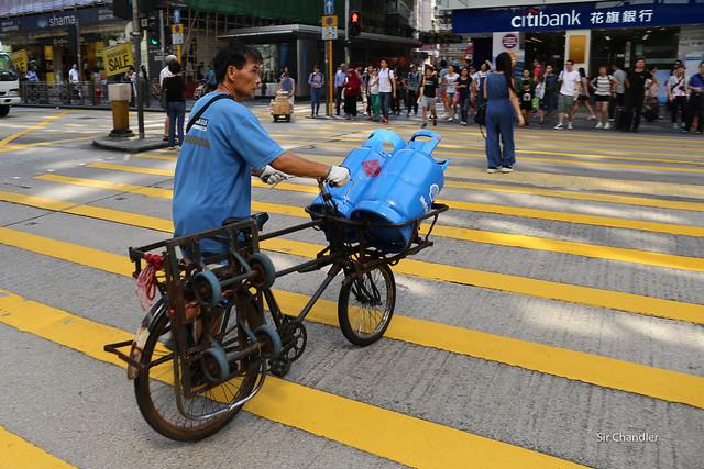Por las calles de Hong Kong