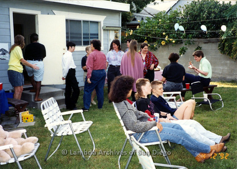 P024.342m.r.t Gathering of women in a backyard