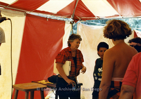 P024.246m.r.t Judy Grahn speaking with people