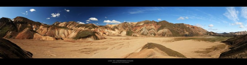 Lost in Landmannalaugar