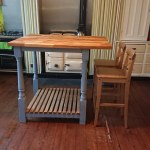 One Home Made Kitchen Island Bar Stools By Ikea Flickr
