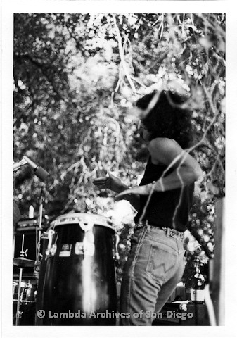 P208.002m.r.t Woman musician playing drum