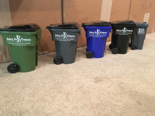 Rehrig Mini Bins | Sorry the 32 gallon is not up for trade ...