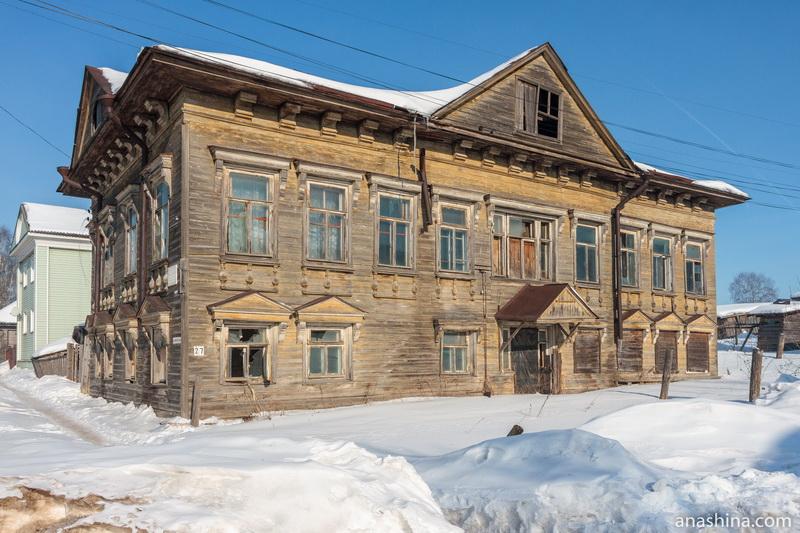 Жилой дом Мичуриных, Солигалич