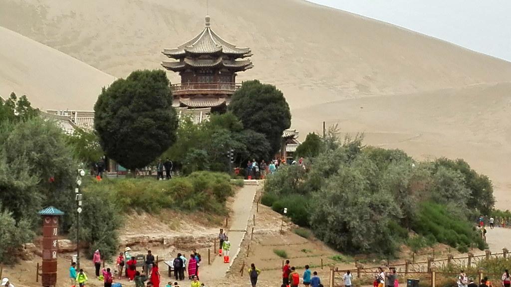 Crescent Lake, Dunhuang, Gansu, China