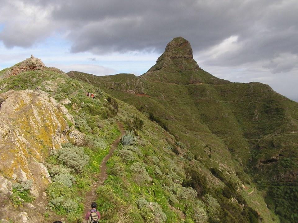 Roque de Taborno Macizo de Anaga ruta Roque de Taborno isla de Tenerife 13