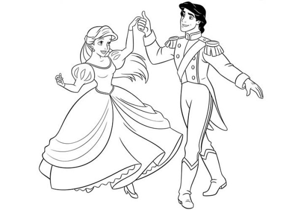 prince coloring pages # 4