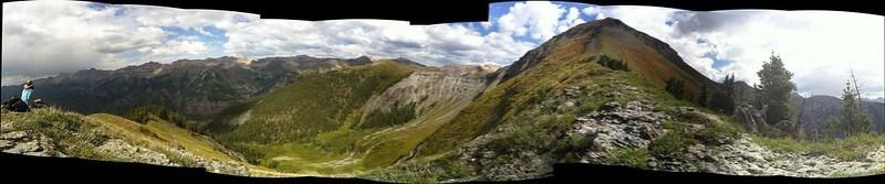 Great hike today under Ballard Peak outside of  Telluride, CO.