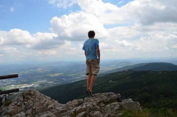 A scenic spot near Liberec, Czech Republic