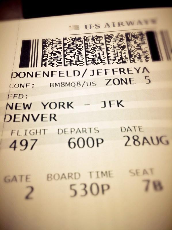 Next stop: Boulder, Colorado