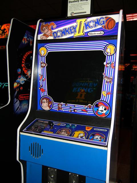 Donkey Kong 2 at Funspot
