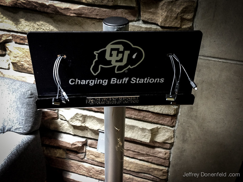 CU Buffs Charging Station