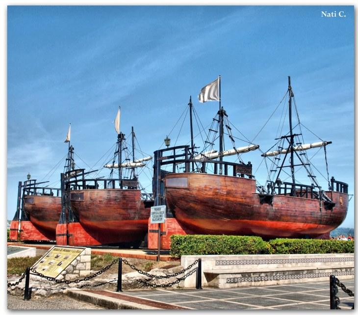 Las tres carabelas | Península de La Magadalena, Santander P… | Flickr