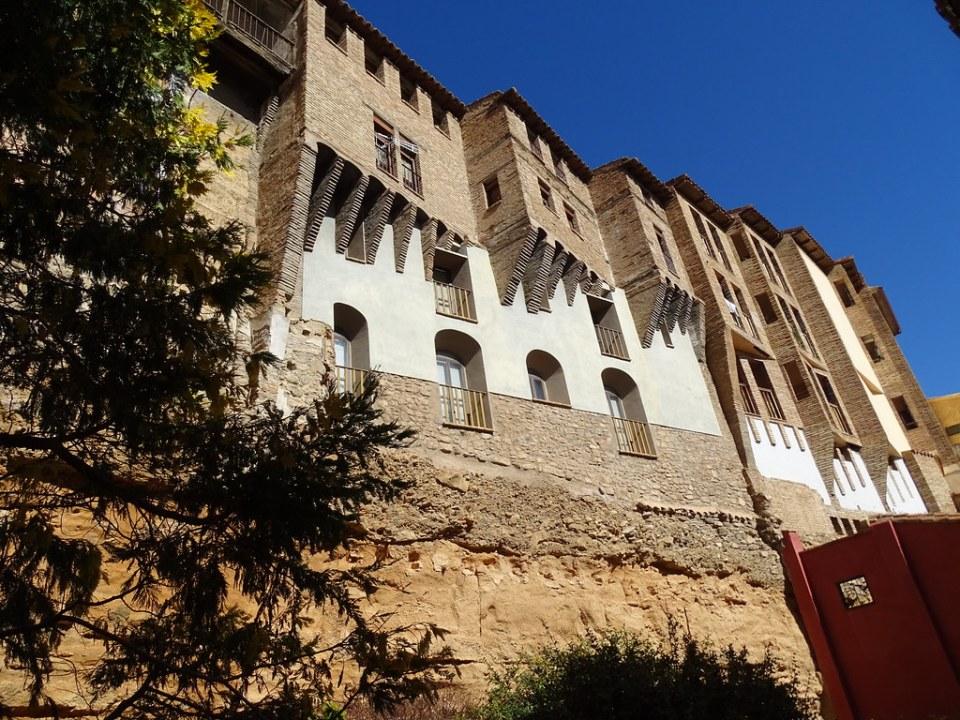 Casas Colgadas Barrio Judio Tarazona Zaragoza 06