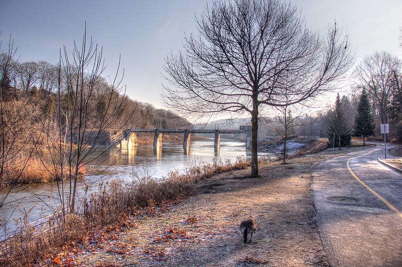 Springbank Thames- Winter HDR