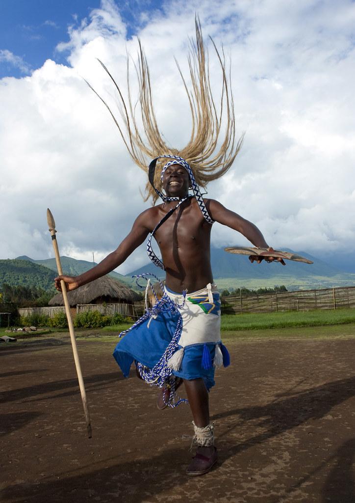 Intore Dancer In Ibwiwachu Village Rwanda 169 Eric