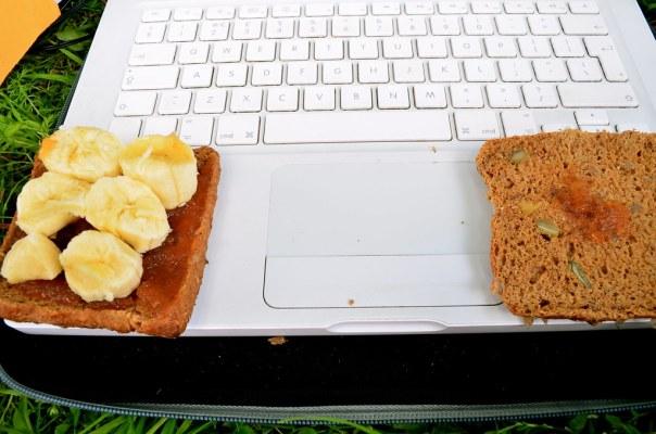 Laptop Breakfast