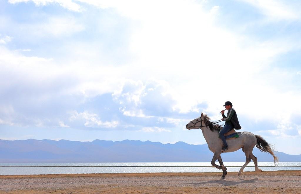 Song Köl lake, Kyrgyzstan