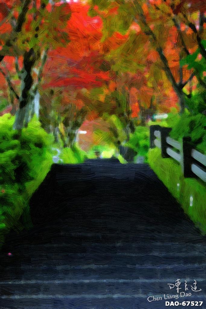 DAO-67527 | 油畫,繪畫,太平山,太平山秋天油畫,森林景色油畫 | Chen Liang Dao 陳良道 | Flickr