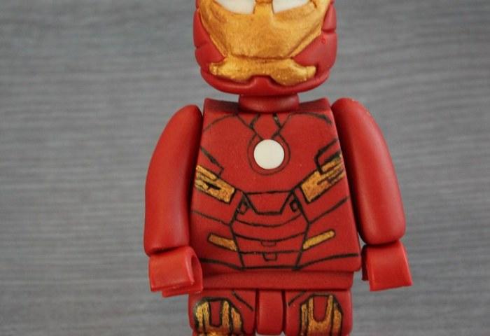 Lego Ironman Fondant Cake Topper Superhero Decoration Flickr