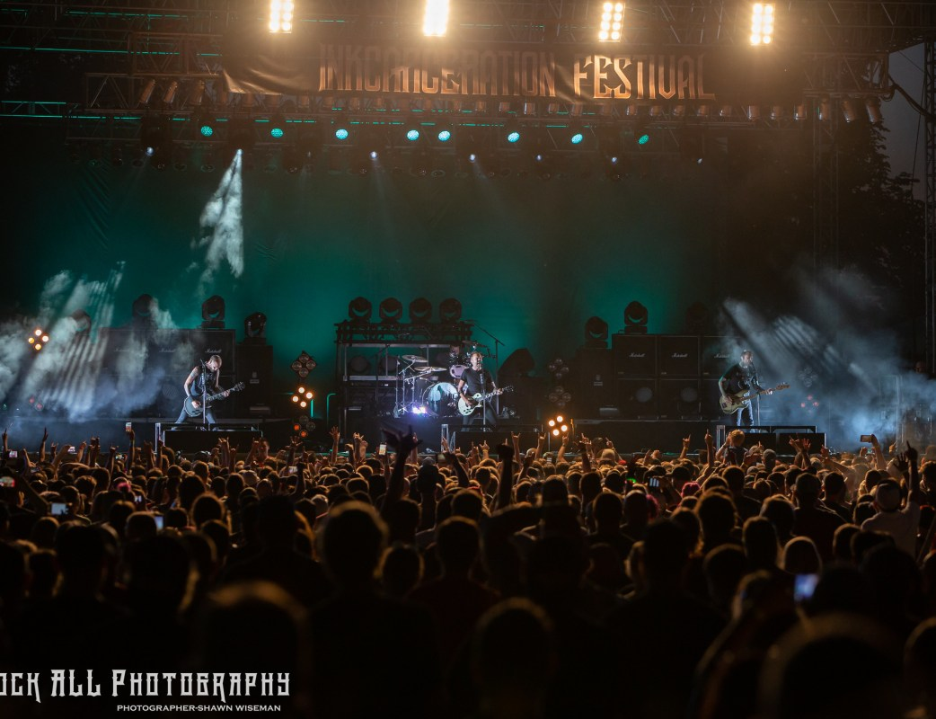 Rise Against - Inkcarceration Festival Day 1 - Mansfield, OH - 7/13/18