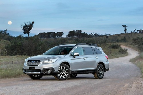 MY15 Subaru Outback - First Drive
