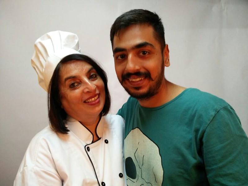 Chef Kanchan & Sannat Ahuja