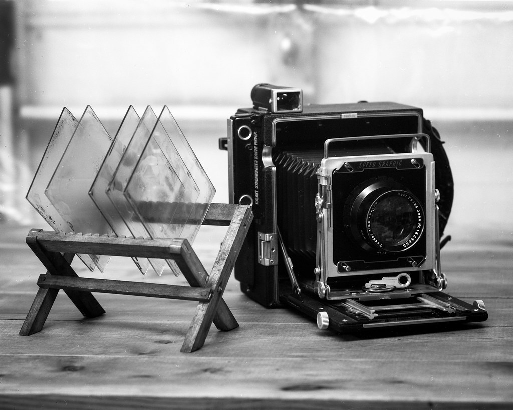 Speed Graphic and Ambrotypes