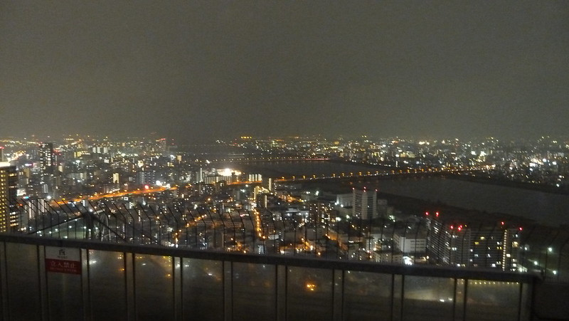 View from Rooftop Floor, Umeda Sky Building