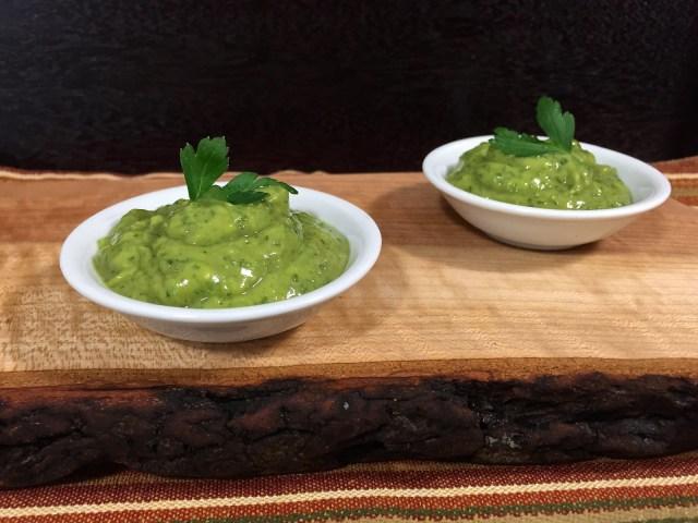 avocado-cilantro lime sauce