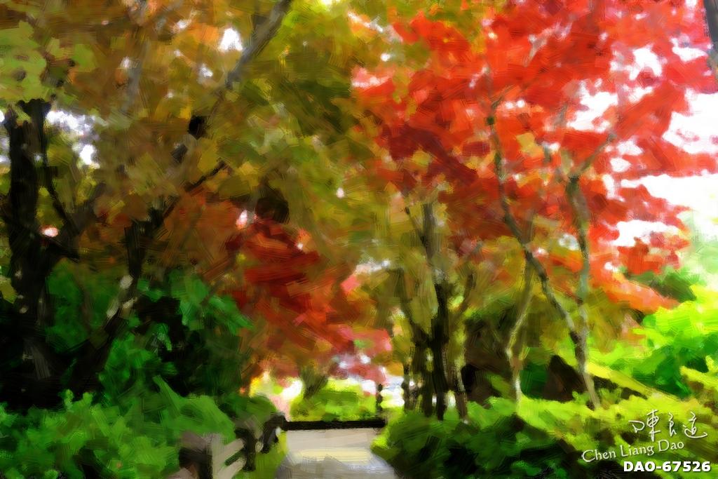 DAO-67526 | 油畫,繪畫,太平山,太平山秋天油畫,森林景色油畫 | Chen Liang Dao 陳良道 | Flickr