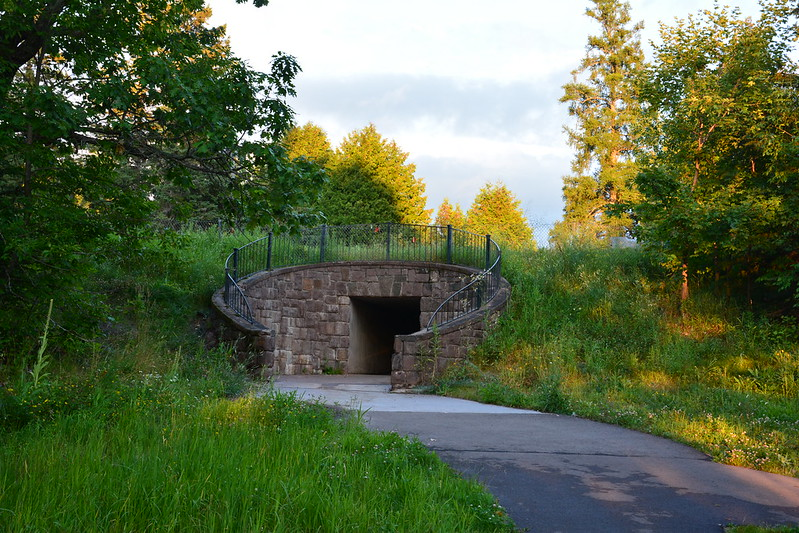 Tunnel at Big Manitou