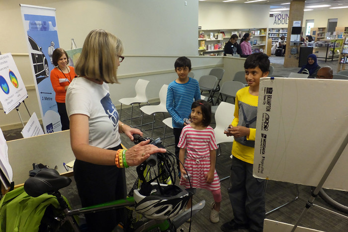 2016 10 Library Spotlight Presentation Cyril Clark bike safety features_700