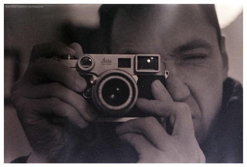 Mr Leica Selfie