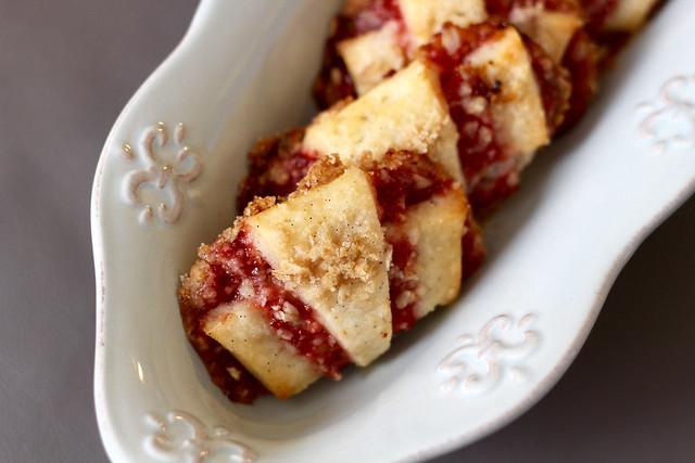 Strawberry Rhubarb Rugelach - 45