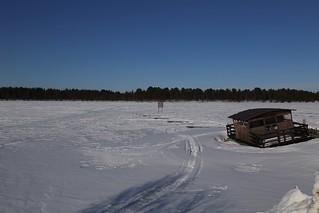 Frozen Lake Inari