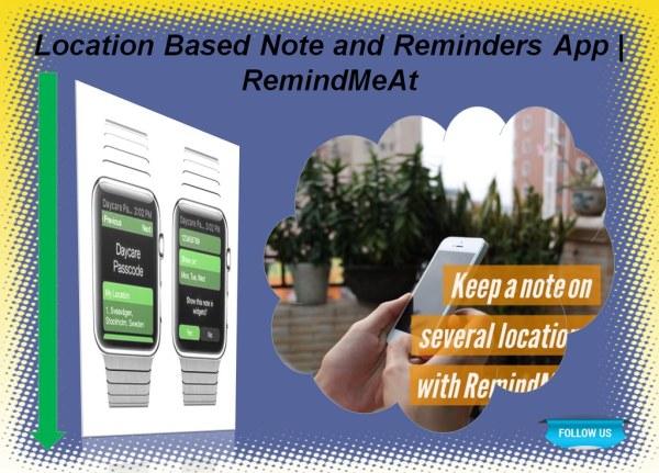 Create a Reminder App - Make Reminder Apps - RemindMeAt ...