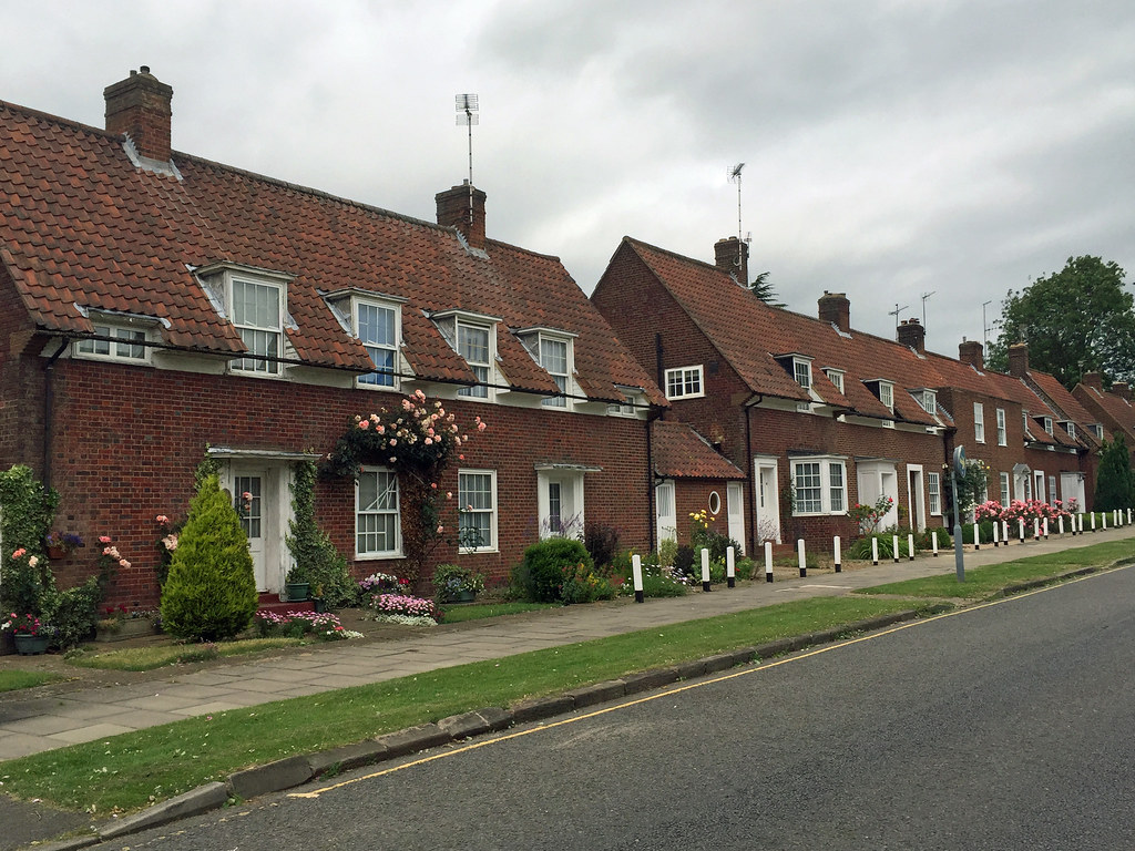 Parkway Welwyn Garden City The Central Spine Road Flickr