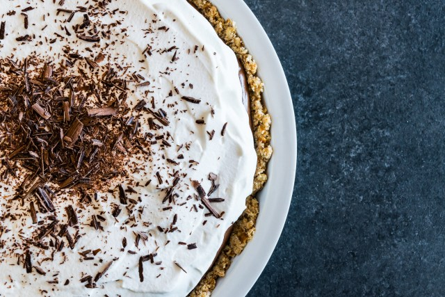 creamy and cool no-bake pie