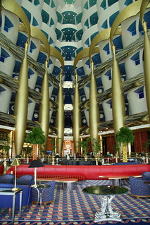 Inside Of The 7 Star Burj Al Arab Hotel In Dubai Karl Drilling Flickr