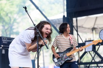 Cherry Glazerr @ Pitchfork Music Festival, Chicago IL 2017