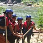 10 Viajefilos en Sri Lanka. Rafting 09