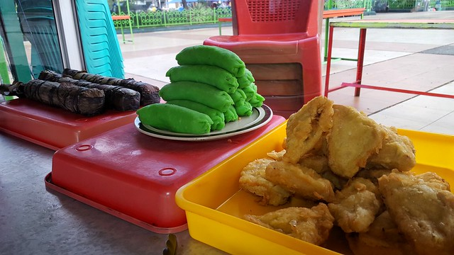 Fried bananas and bananas wrapped in green pancakes -- we tried them both by bryandkeith on flickr