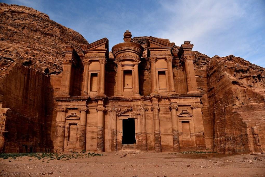 SSR_1397 Petra. The Monastery.