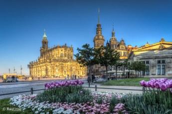 Dresden - kath. Hofkirche / Residenzschloss
