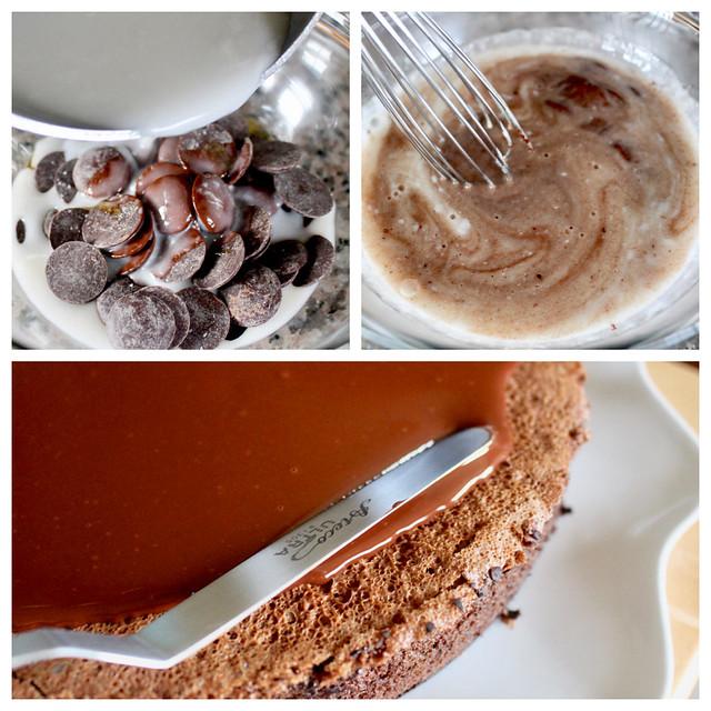 Chocolate Coconut Macaroon Cake - 39